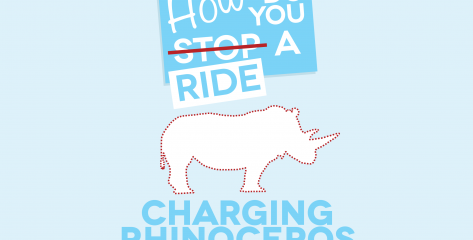 How to Ride a Charging Rhinoceros Cover